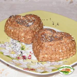 Творожные кексы на ряженке
