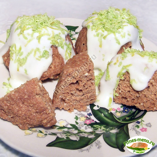 фото рецепт ккал высокобелковые сырные кексы с отрубями