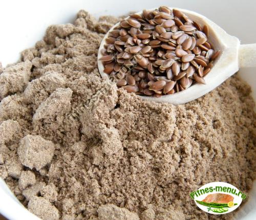 Льняное семя - источник клетчатки
