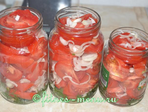 рецепт десертных помидор на зиму с маслом