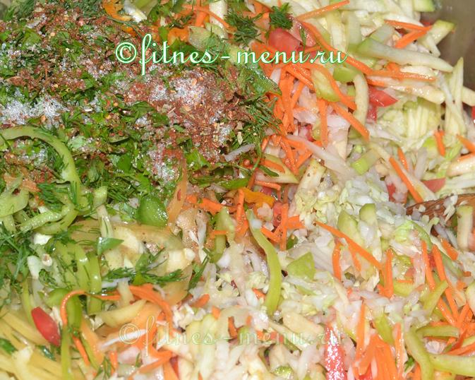 Рецепт салата помидоры с кабачками на зиму рецепт